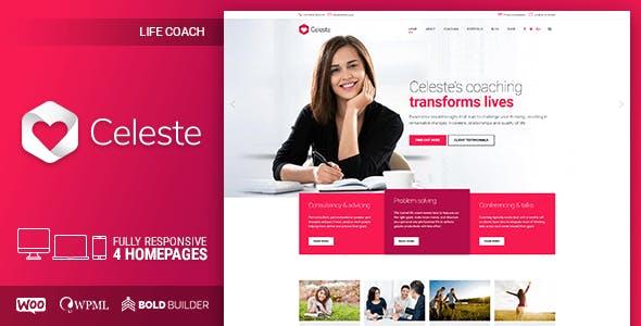 Celeste - Life Coach and Therapist WordPress Theme