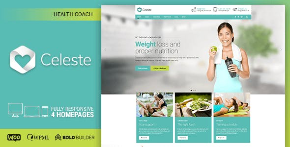 Business Coach Templates from ThemeForest