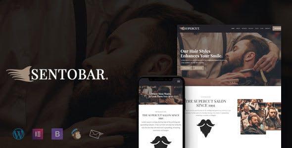 Sentobar - BarberShop & Hair Salon WordPress Theme