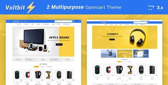 Voltbit - Multipurpose Responsive Opencart 3 Theme free
