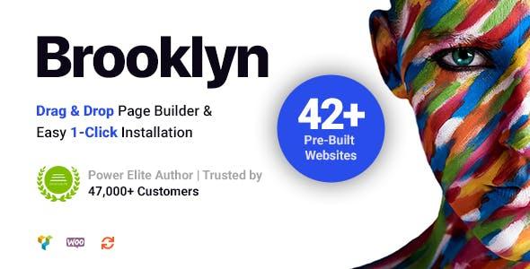 the best attitude a9b80 47cb8 Brooklyn  Creative Multipurpose Responsive WordPress Theme by UnitedThemes
