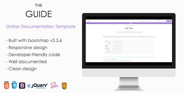 theguide online documentation wordpress theme
