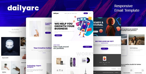 Android studio app website templates from themeforest dailyar email template online builder maxwellsz