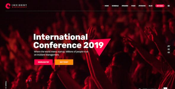 Conference psd files and photoshop templates from themeforest meeting and conference psd template maxwellsz