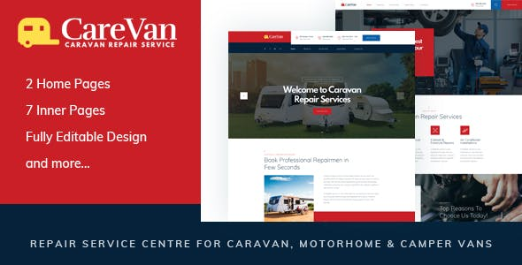 vans templates from themeforest