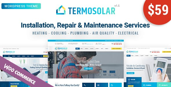 Home Services Templates from ThemeForest