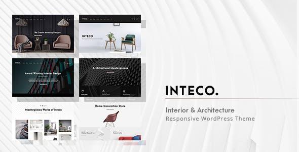 Inteco - Interior & Architecture WordPress Theme