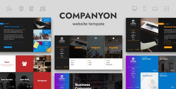 Facebook Website Templates from ThemeForest