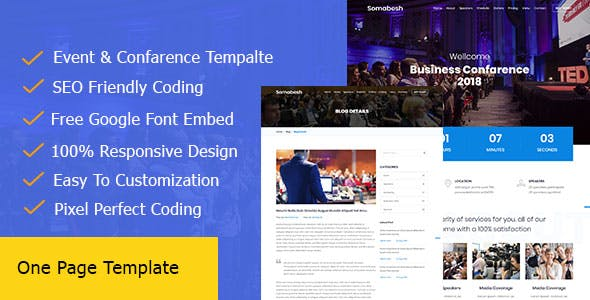 timeline html website templates from themeforest