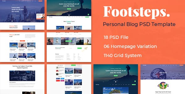 Gallery PSD Files and Photoshop Templates from ThemeForest