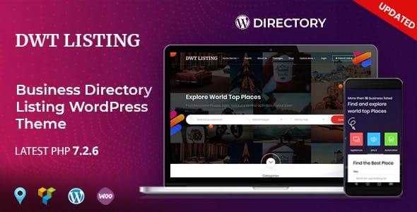 Business directory templates from themeforest dwt listing directory listing wordpress theme wajeb Image collections