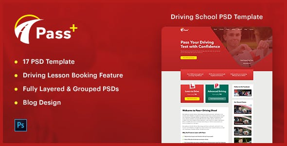 driving templates from themeforest
