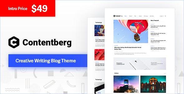 Writing Templates from ThemeForest