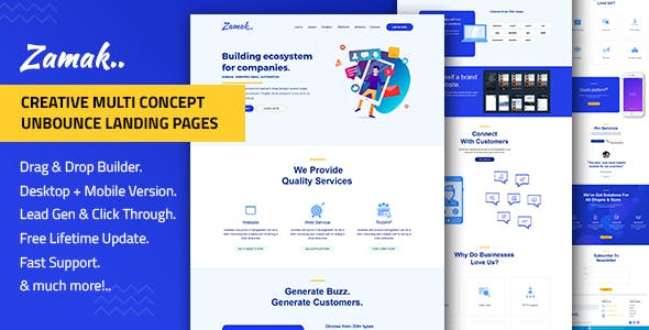 Lead Generation Templates from ThemeForest