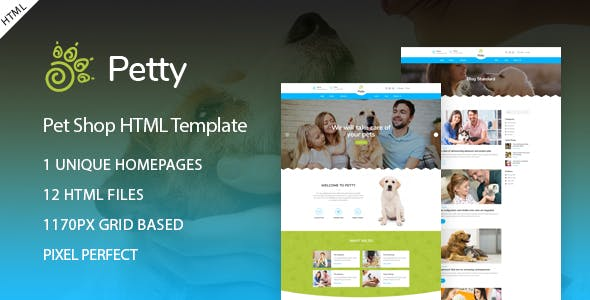 Pets Templates from ThemeForest