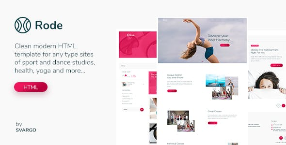 yoga website templates compatible with bootstrap