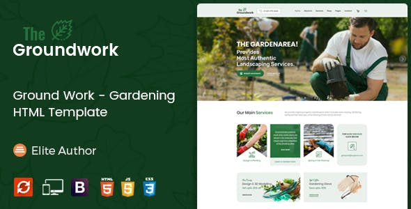 landscape templates from themeforest
