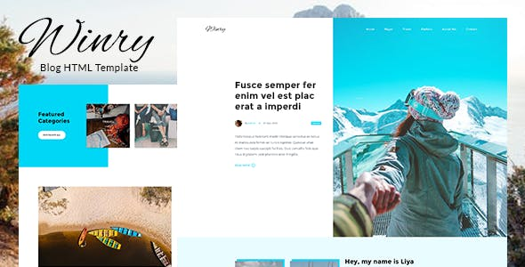 Personal HTML Website Templates from ThemeForest