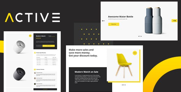 Professional corporate html website templates from themeforest active business and e commerce html5 template fbccfo Image collections