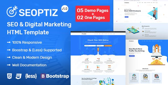 Professional Corporate HTML Website Templates from ThemeForest