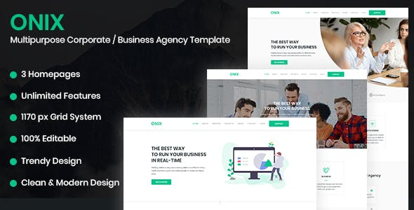 web development agency templates from themeforest