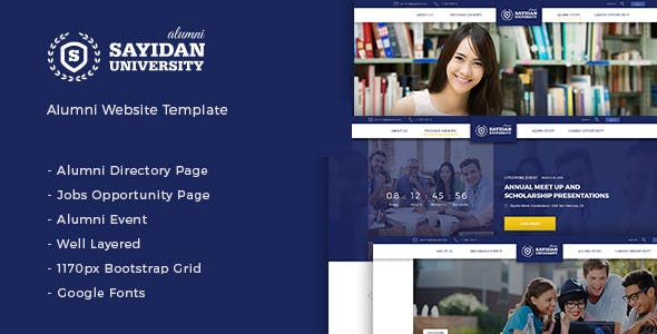 directory and student education wordpress theme from themeforest
