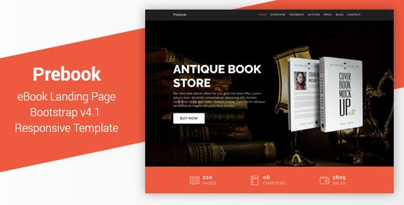 Marketing Landing Page Templates From ThemeForest
