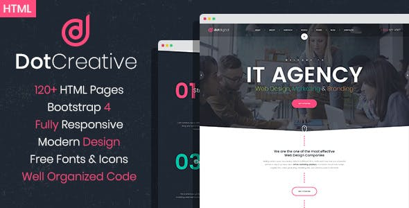 web development templates from themeforest