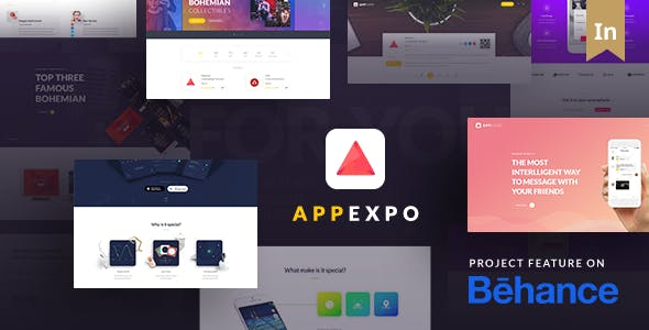 AppExpo - Multipurposes Application WordPress by TheRubikThemes