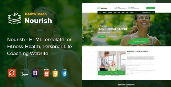 Wellness Html Fitness Health Beauty Website Templates