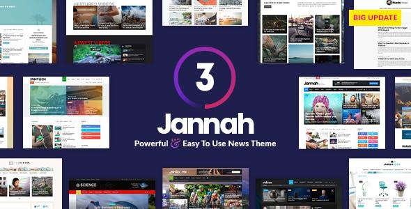 Jannah News - Newspaper Magazine AMP BuddyPress by TieLabs   ThemeForest