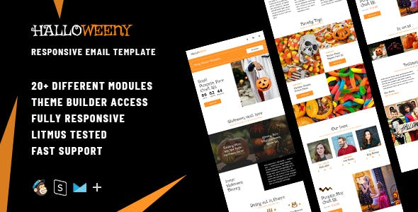 halloween website templates from themeforest