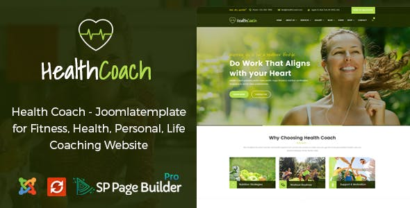 personal trainer cms website templates from themeforest