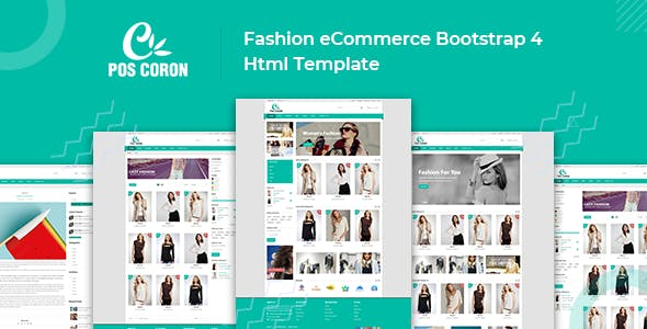 fashion ecommerce template Free Download | Envato Nulled