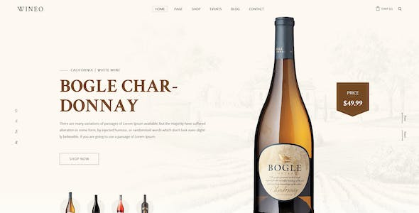 wine templates from themeforest