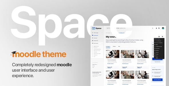 Space | Moodle Template nulled theme download