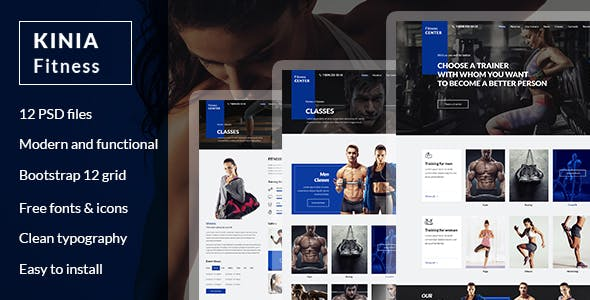 Boxing Templates From ThemeForest