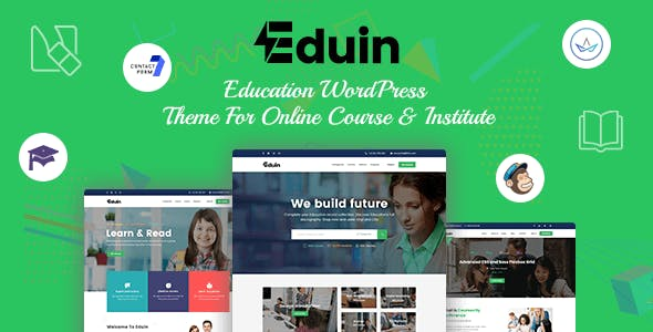 Eduin - Online Course WordPress Theme