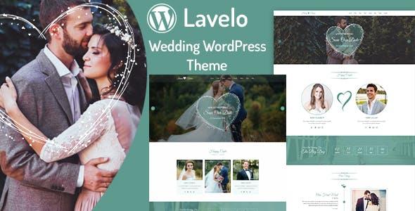 Lavelo - Wedding WordPress Theme nulled theme download