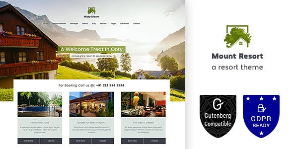 Mount Resort | Hotel, Resort WordPress Theme