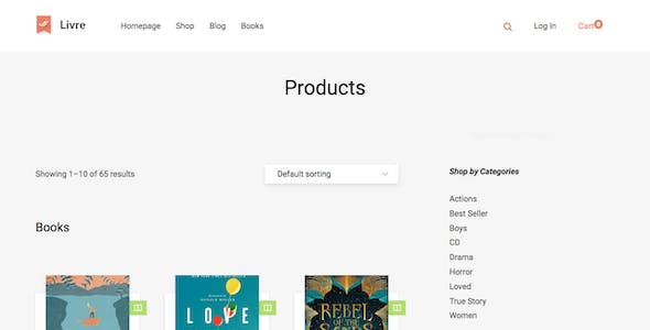 publisher website templates compatible with woocommerce