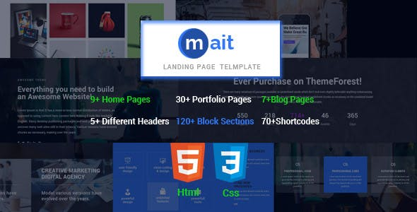 timeline template landing pages templates from themeforest