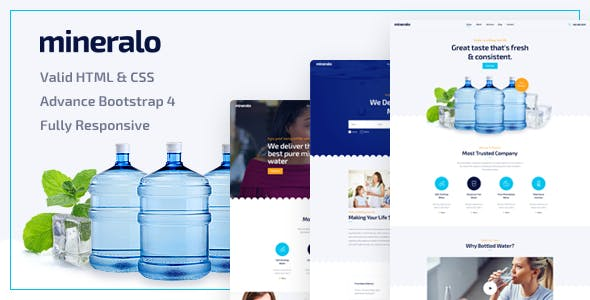 drinks templates from themeforest