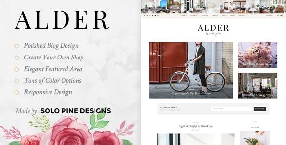 2de88b826d37 Alder - A Responsive WordPress Blog Theme - Personal Blog   Magazine