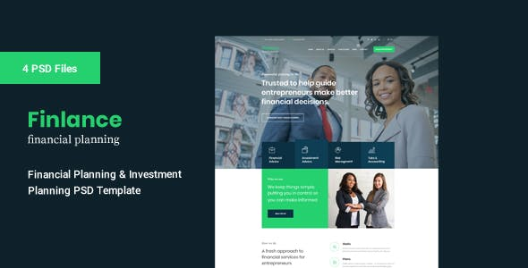 accounting templates from themeforest