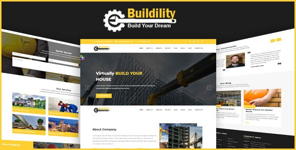 construction template templates from themeforest