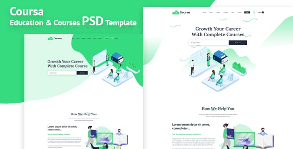 teaching templates from themeforest