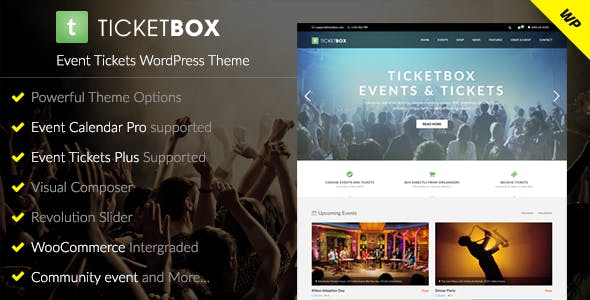 concert tickets templates from themeforest