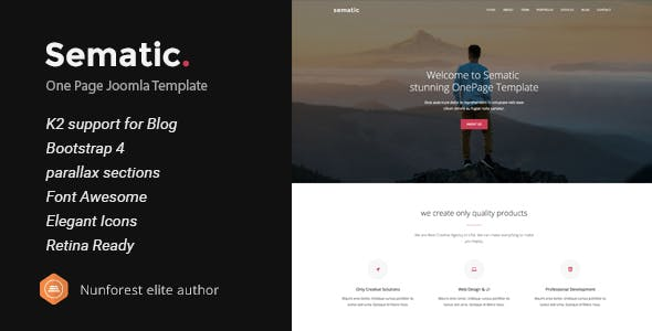 Bootstrap 4 Joomla Templates From Themeforest