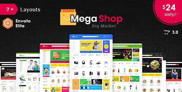 OpenCart Online Shopping Themes From ThemeForest